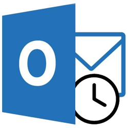 mail inplannen in outlook